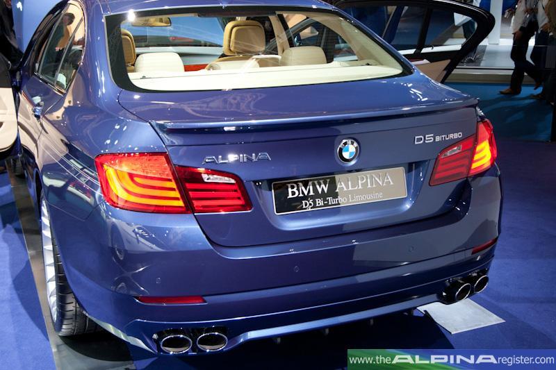 BMW bmwアルピナ d5 ターボ : thealpinaregister.com