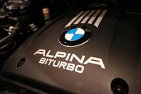 The all new ALPINA B3 bi-turbo Saloon (No. 002)- Click to see bigger image