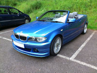 ALPINA B3 s number 227 - Click Here for more Photos