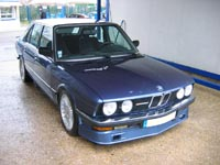 ALPINA B7 Turbo number 160 - Click Here for more Photos